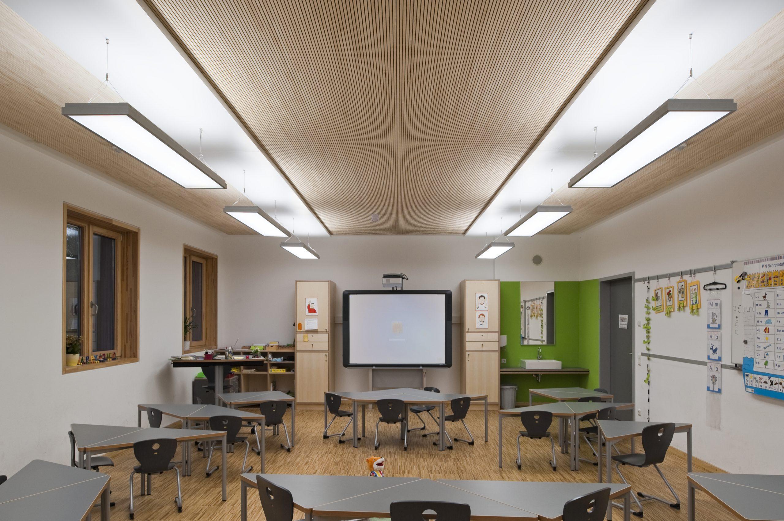 Klassenzimmer Whiteboard Akustik