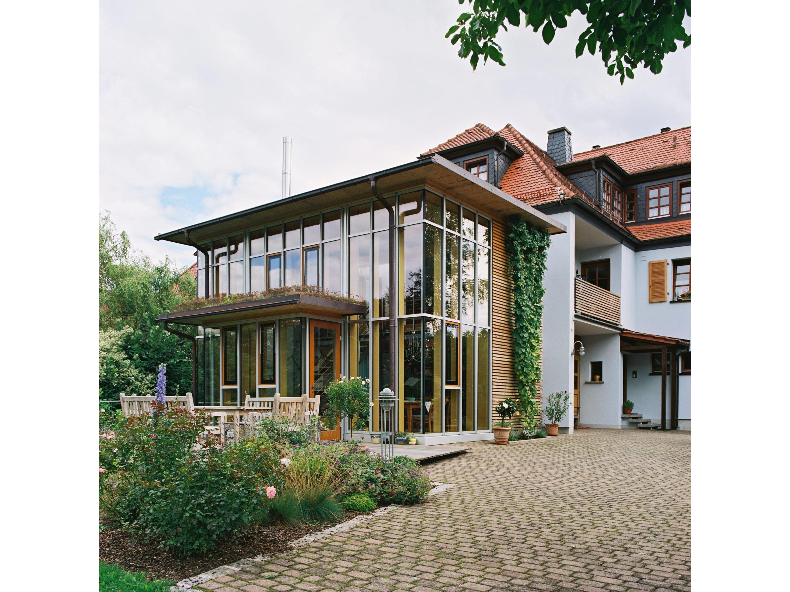 Gartenzimmer zweigeschossig